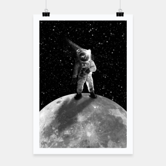 Thumbnail image of Bohemian Astronaut Poster, Live Heroes