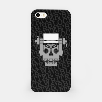 Writer's Block iPhone Case thumbnail image