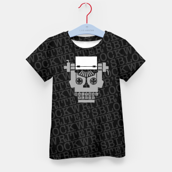 Writer's Block Kid's t-shirt thumbnail image