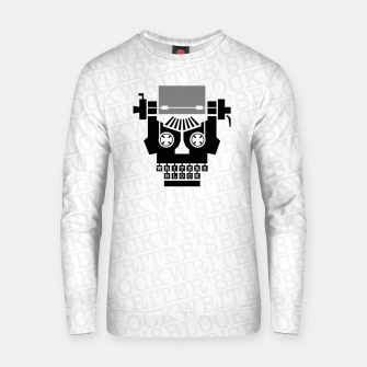 Thumbnail image of Writer's Block II Cotton sweater, Live Heroes