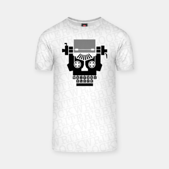 Thumbnail image of Writer's Block II T-shirt, Live Heroes