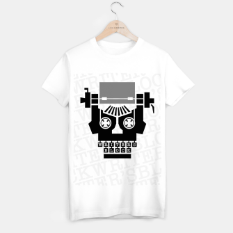 Thumbnail image of Writer's Block II T-shirt regular, Live Heroes