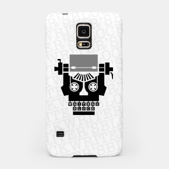 Thumbnail image of Writer's Block II Samsung Case, Live Heroes
