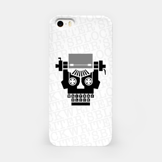 Thumbnail image of Writer's Block II iPhone Case, Live Heroes