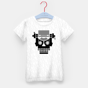 Thumbnail image of Writer's Block II Kid's t-shirt, Live Heroes