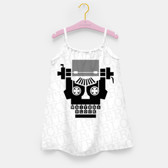 Thumbnail image of Writer's Block II Girl's dress, Live Heroes