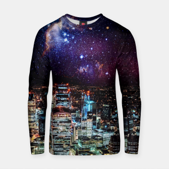 Thumbnail image of City Nights Cotton sweater, Live Heroes