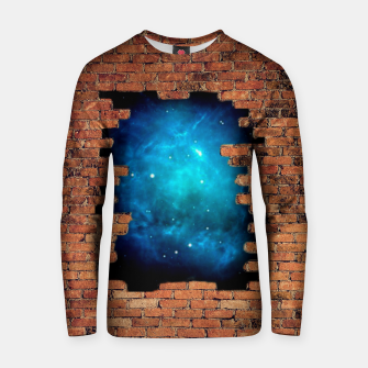 Thumbnail image of Worm Hole Cotton sweater, Live Heroes