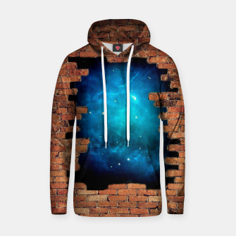 Thumbnail image of Worm Hole Cotton hoodie, Live Heroes