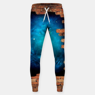 Thumbnail image of Worm Hole Cotton sweatpants, Live Heroes