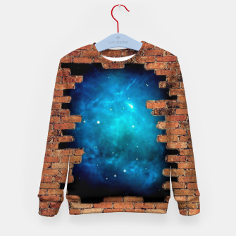 Thumbnail image of Worm Hole Kid's sweater, Live Heroes