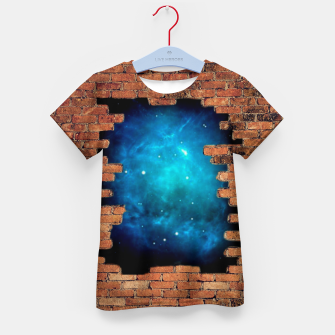 Thumbnail image of Worm Hole Kid's t-shirt, Live Heroes