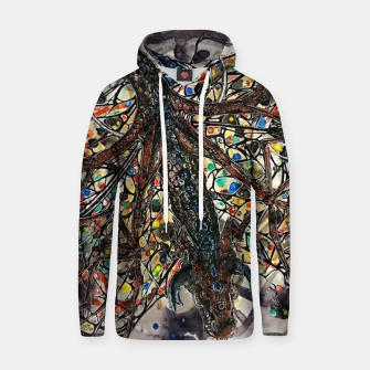 Thumbnail image of Butterfly dragon Cotton hoodie, Live Heroes