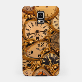 Thumbnail image of Vintage Fancy Clock Samsung Case, Live Heroes