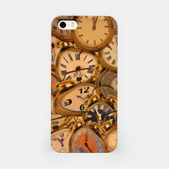 Thumbnail image of Vintage Fancy Clock iPhone Case, Live Heroes