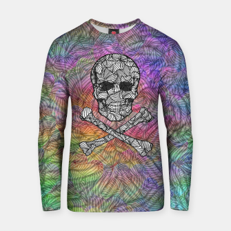 Thumbnail image of skullandbones Cotton sweater, Live Heroes