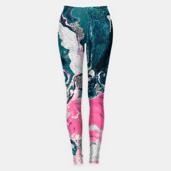 Marble mosaic with patterned patterns 02 Leggings thumbnail image