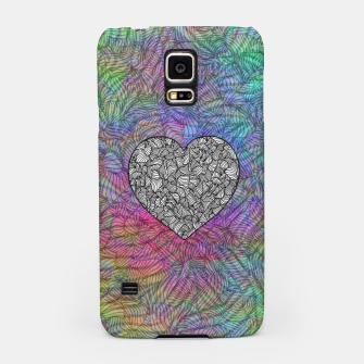 Thumbnail image of heart Samsung Case, Live Heroes