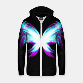 Miniaturka Fairy Wings Cotton zip up hoodie, Live Heroes