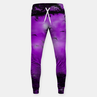 Miniaturka The Purple Forest Cotton sweatpants, Live Heroes