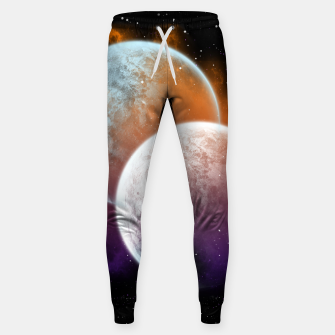 Miniaturka Together Forever Planets Cotton sweatpants, Live Heroes