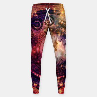 Miniaturka Steampunk vintage clock  Cotton sweatpants, Live Heroes