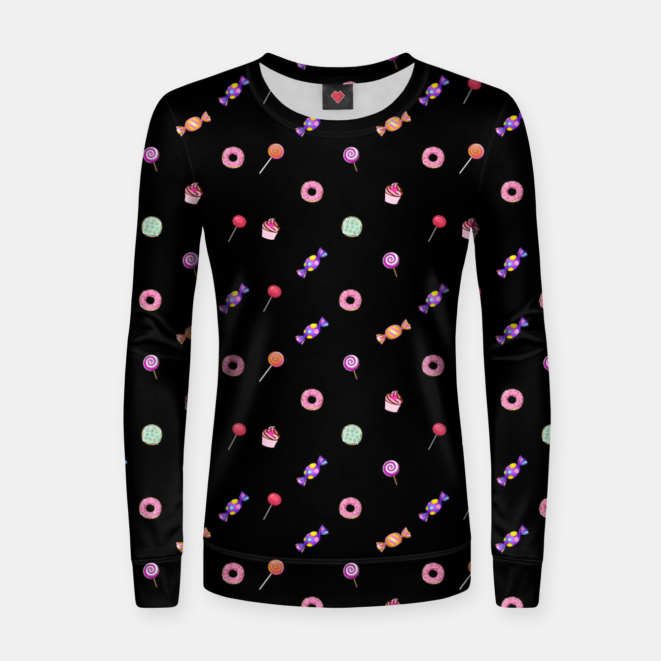 Zdjęcie Candies and sweets  Woman cotton sweater - Live Heroes