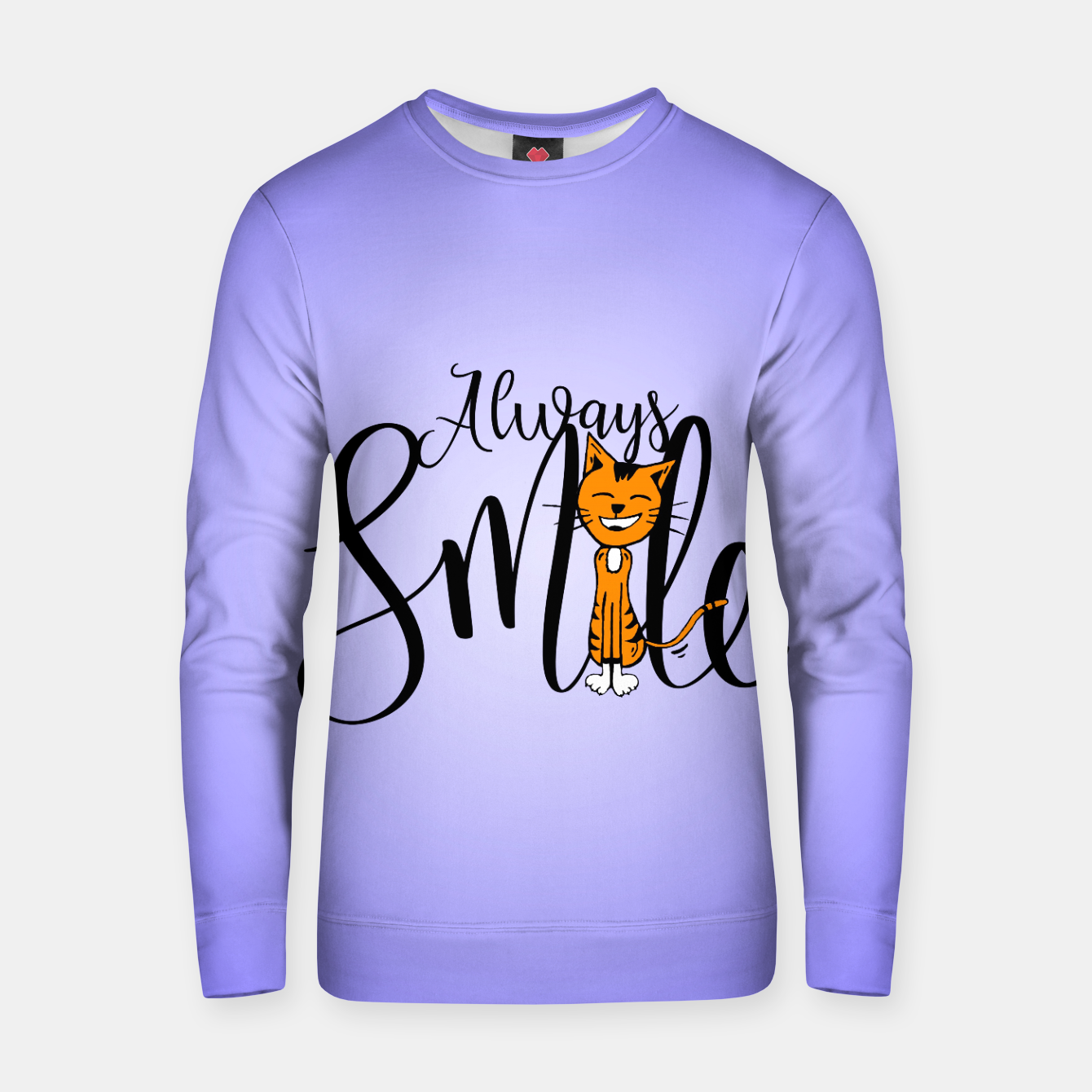 Zdjęcie Always smile Cotton sweater - Live Heroes