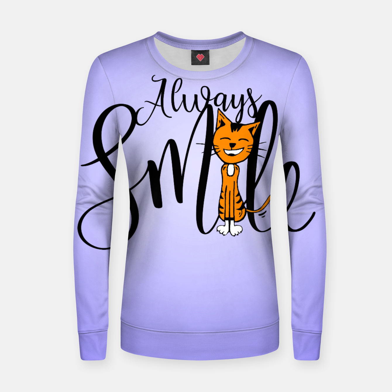 Zdjęcie Always smile Woman cotton sweater - Live Heroes
