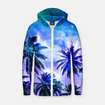 Miniaturka Island Nights Cotton zip up hoodie, Live Heroes