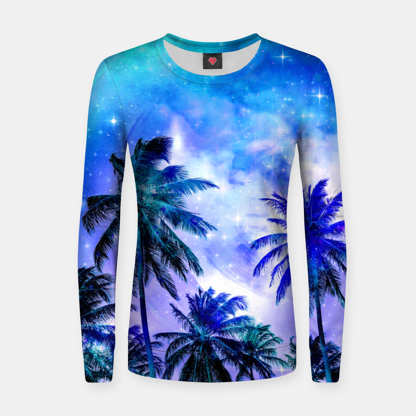 Zdjęcie Island Nights Woman cotton sweater - Live Heroes