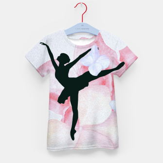 Thumbnail image of Ballerina T-Shirt für kinder, Live Heroes
