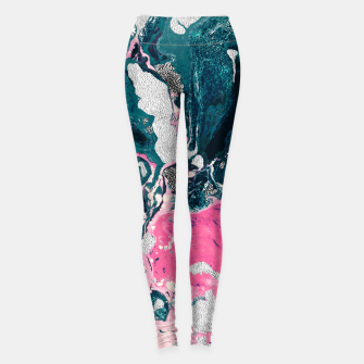 Thumbnail image of Marble mosaic with patterned patterns 02 Leggings, Live Heroes