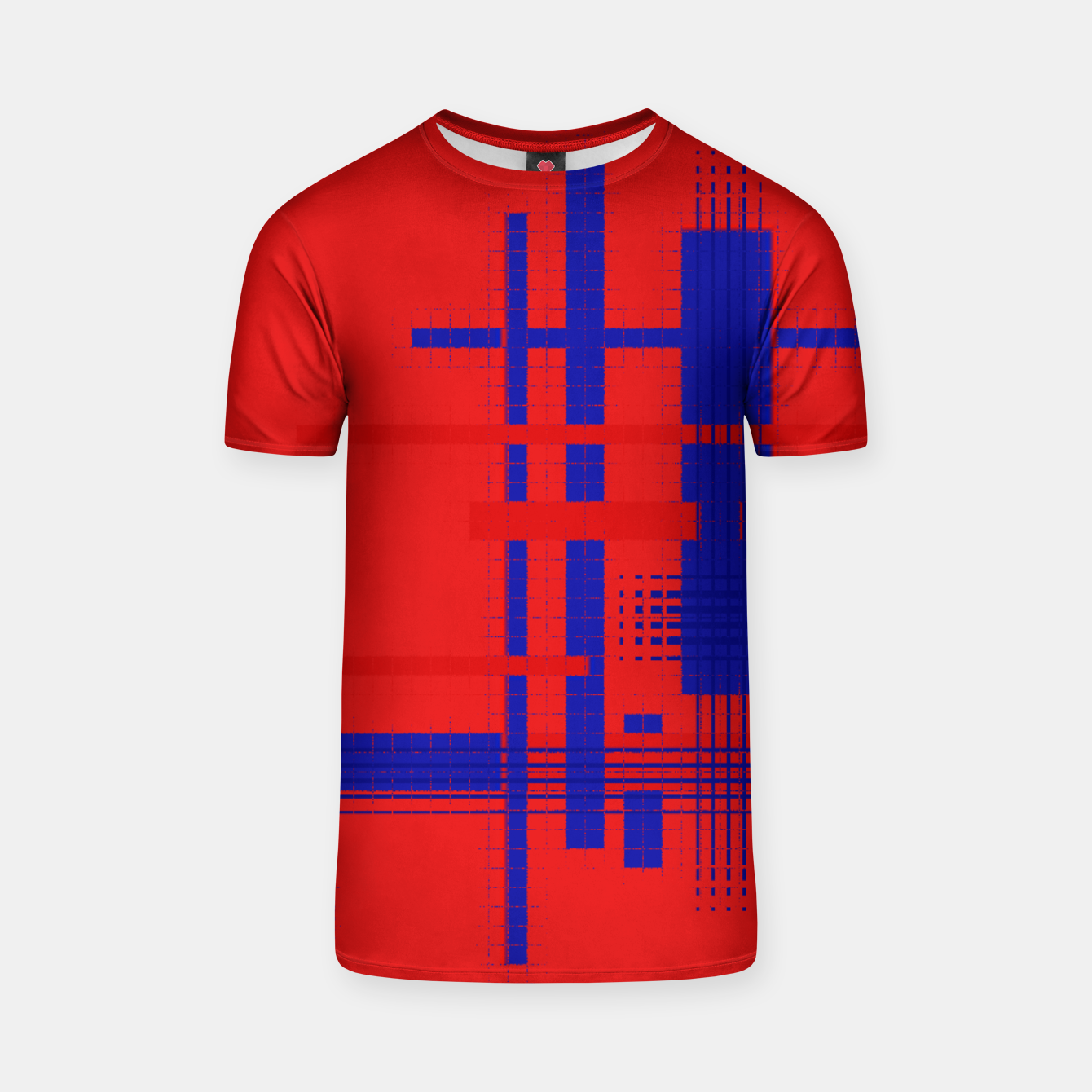 Image of Red Blue Dream Stripes tshirt - Live Heroes