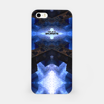 Thumbnail image of There Are No Shortcuts iPhone Case, Live Heroes