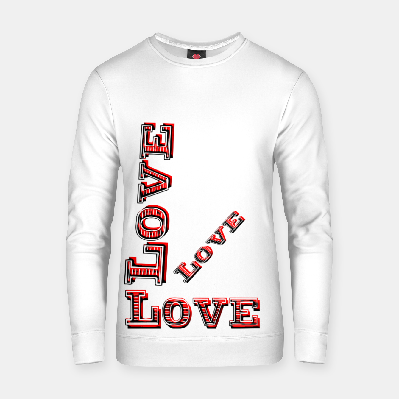 Image of All You Need Is Love (cotton sweater) - Live Heroes