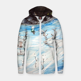 Thumbnail image of Finland Funland 1 Cotton zip up hoodie, Live Heroes