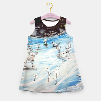 Thumbnail image of Finland Funland 1 Girl's summer dress, Live Heroes