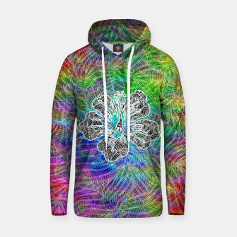 Thumbnail image of flower Cotton hoodie, Live Heroes