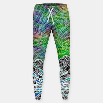 Thumbnail image of flower Cotton sweatpants, Live Heroes