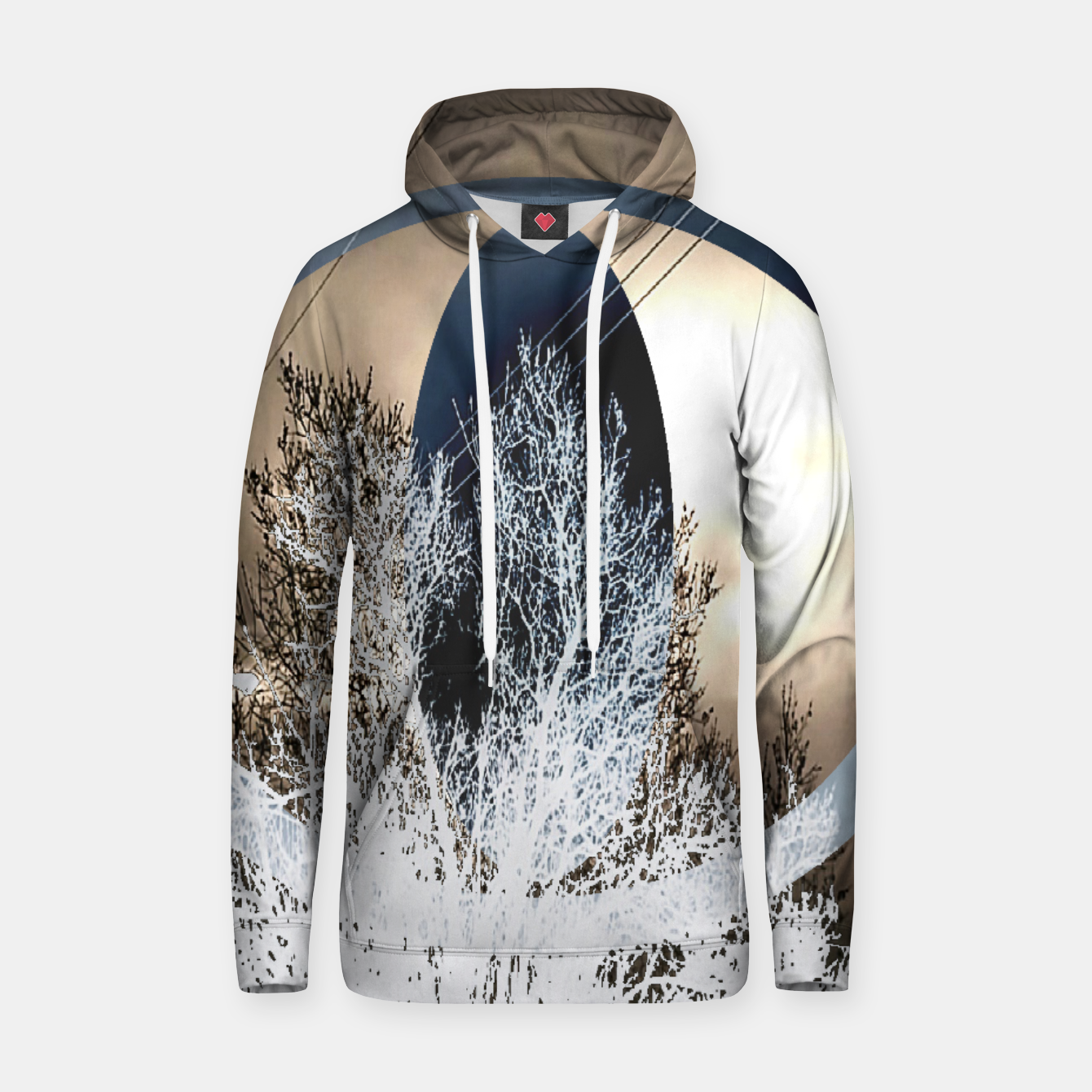 Image of See The Forest (men's cotton hoodie) - Live Heroes
