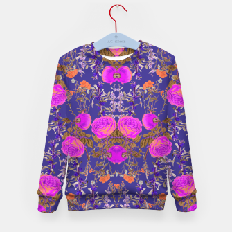 Thumbnail image of Vibrant Botanic Kid's sweater, Live Heroes