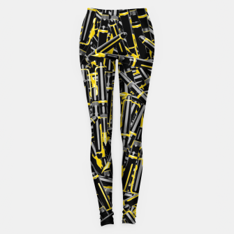 Thumbnail image of Writer's Tools Leggings, Live Heroes