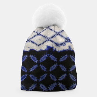 Miniaturka V42 Dark Blue Traditional Moroccan Texture Beanie, Live Heroes