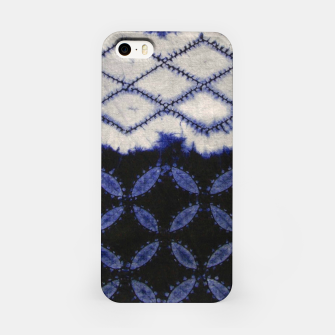 Miniaturka V42 Dark Blue Traditional Moroccan Texture iPhone Case, Live Heroes