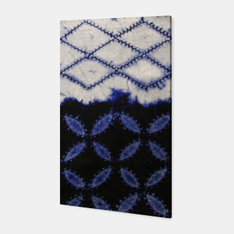 Miniaturka V42 Dark Blue Traditional Moroccan Texture Canvas, Live Heroes