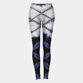 Miniaturka V42 Dark Blue Traditional Moroccan Texture Leggings, Live Heroes