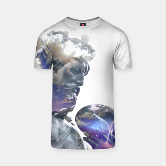 Thumbnail image of Zeus 2 T-shirt, Live Heroes