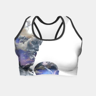 Thumbnail image of Zeus 2 Crop Top, Live Heroes