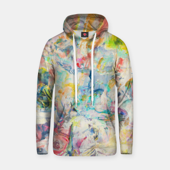 Thumbnail image of Summer Abstraction Cotton hoodie, Live Heroes